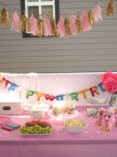 Teen Unicorn birthday party