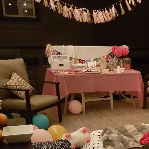 Teen Unicorn birthday party
