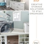 15 CREATIVE STORAGE SOLUTIONS TO ORGANIZE YOUR SMALL HOME