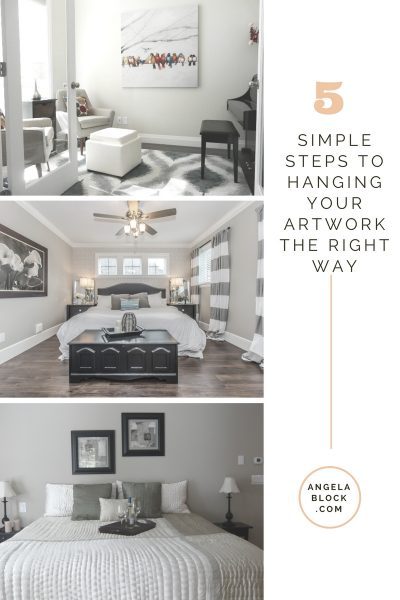 5 SIMPLE STEPS TO HANGING YOUR ARTWORK THE RIGHT WAY