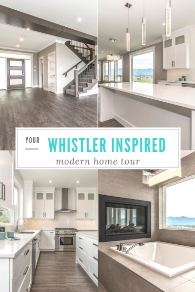 WHISTLER INSPIRED MODERN HOME TOUR