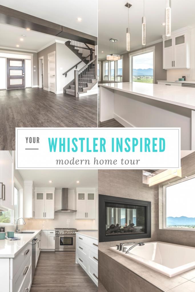 Whistler inspired modern home tour