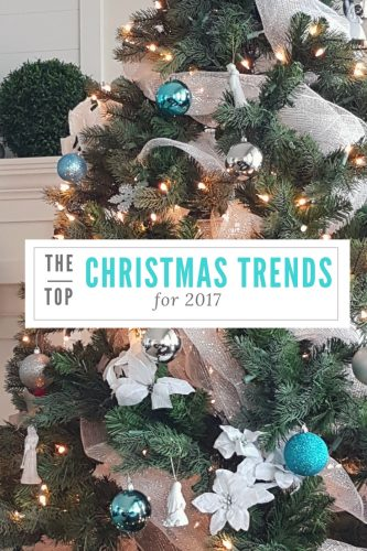 the top christmas trends for 2017