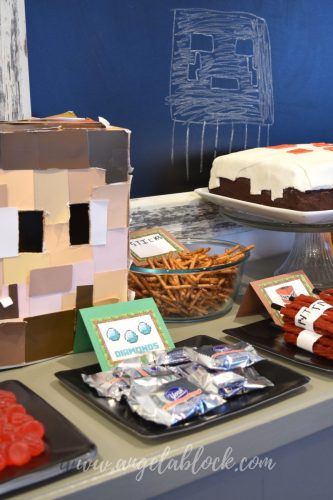 How to create a simple Minecraft birthday party