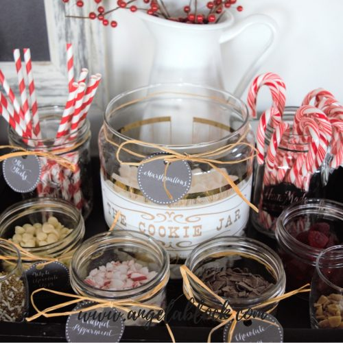 HOW TO CREATE A HOT CHOCOLATE PARTY
