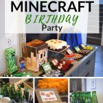 HOW TO CREATE A SIMPLE BOYS MINECRAFT BIRTHDAY PARTY