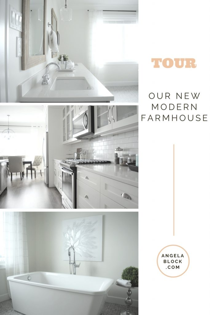 TOUR OUR NEW MODERN FARMHOUSE