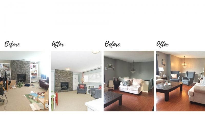 BEFORE AND AFTER REDESIGN YOUR HOME TUTORIAL