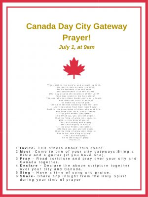 HOW TO PRAY FOR YOUR CITY AND COUNTRY