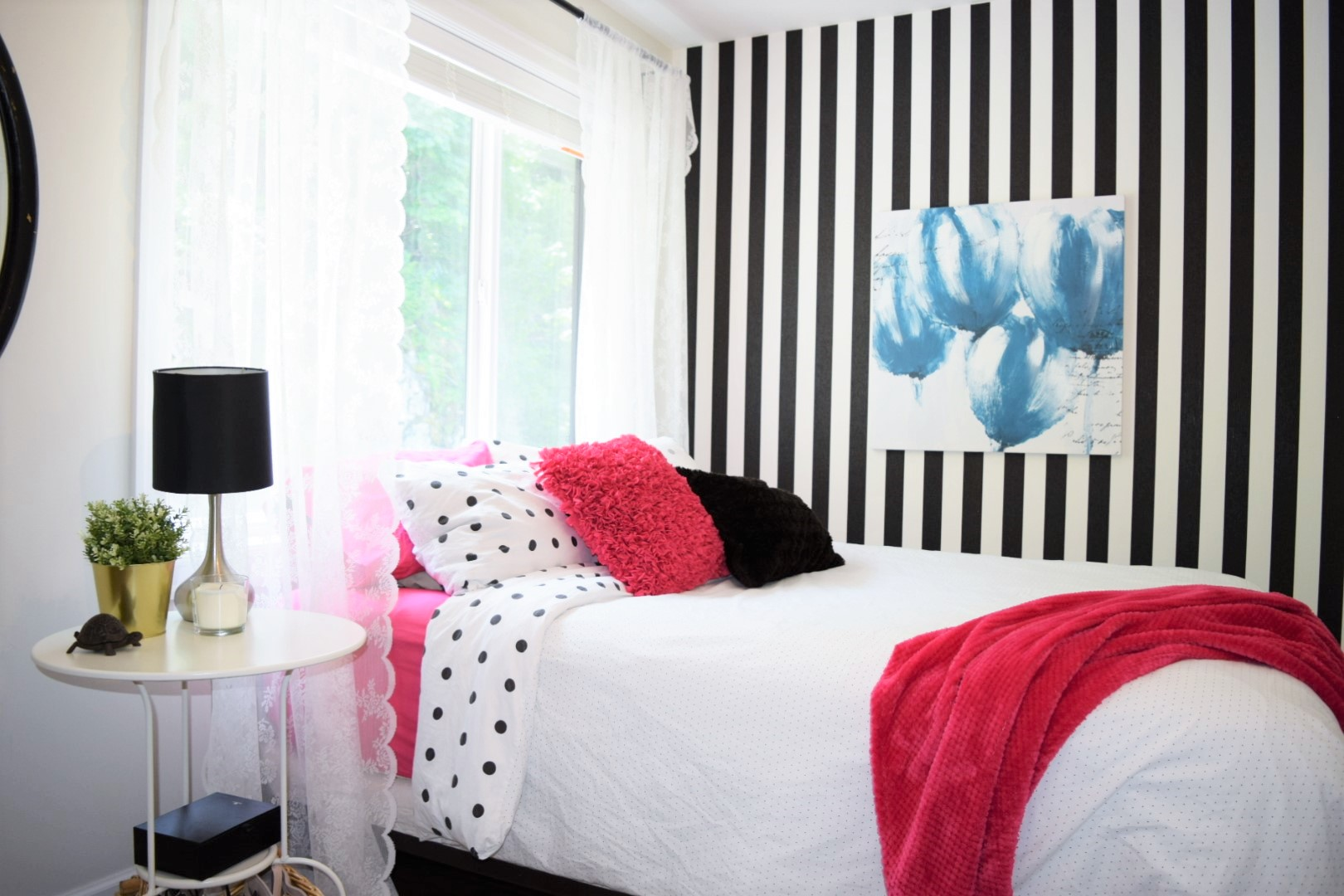 How To Decorate A Vintage Teen Bedroom On A Budget Angela Block Home Design